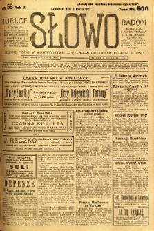 Słowo, 1923, R. 2, nr 59