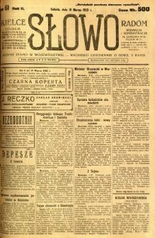 Słowo, 1923, R. 2, nr 61