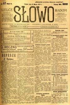 Słowo, 1923, R. 2, nr 66