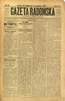 Gazeta Radomska, 1898, R. 15, nr 85