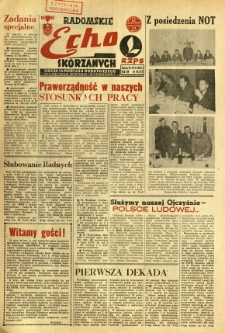 Radomskie Echo Skórzanych, 1969, R. 14, nr 16