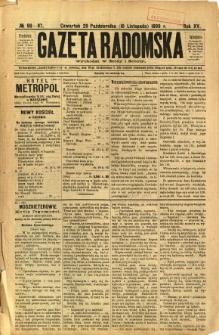 Gazeta Radomska, 1898, R. 15, nr 86-87