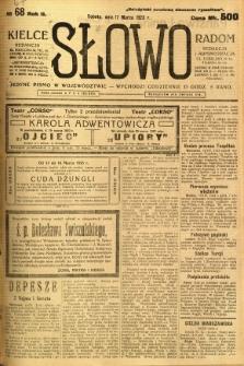 Słowo, 1923, R. 2, nr 67