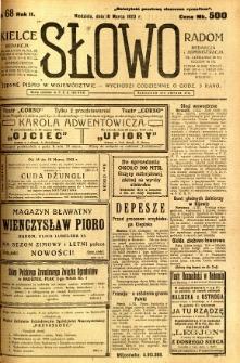 Słowo, 1923, R. 2, nr 68