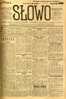 Słowo, 1923, R. 2, nr 70