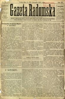 Gazeta Radomska, 1898, R. 15, nr 92