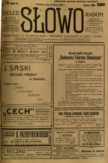 Słowo, 1923, R. 2, nr 74