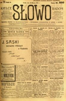 Słowo, 1923, R. 2, nr 76