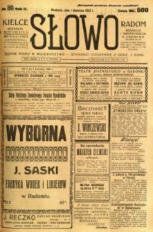 Słowo, 1923, R. 2, nr 80