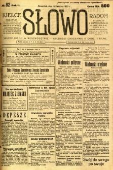 Słowo, 1923, R. 2, nr 82