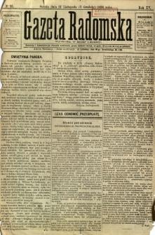 Gazeta Radomska, 1898, R. 15, nr 93