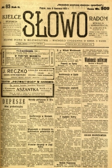 Słowo, 1923, R. 2, nr 83