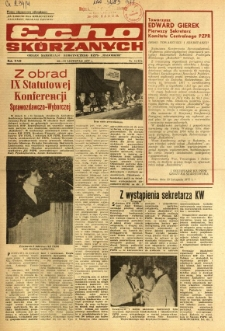 Radomskie Echo Skórzanych, 1977, R. 22, nr 33