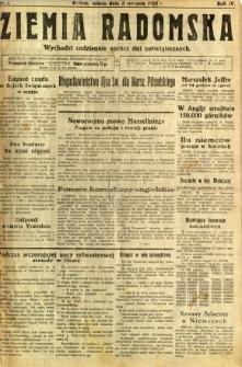 Ziemia Radomska, 1931, R. 4, nr 2