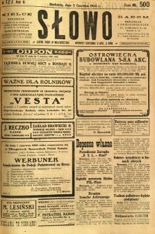 Słowo, 1923, R. 2, nr 127