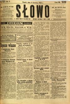 Słowo, 1923, R. 2, nr 131