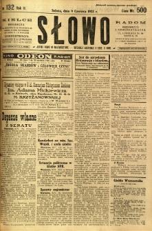 Słowo, 1923, R. 2, nr 132