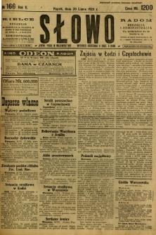 Słowo, 1923, R. 2, nr 166