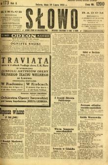 Słowo, 1923, R. 2, nr 173