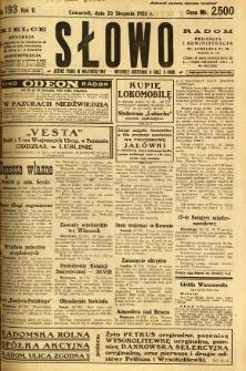 Słowo, 1923, R. 2, nr 193