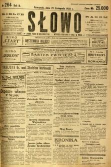 Słowo, 1923, R. 2, nr 264