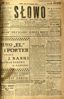 Słowo, 1923, R. 2, nr 280