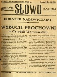 Słowo, 1923, R. 2, wyd. nadzwyczajne