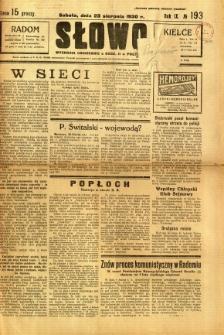 Słowo, 1930. R. 9, nr 193