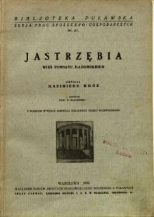 Jastrzębia : wieś powiatu radomskiego