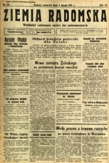 Ziemia Radomska, 1931, R. 4, nr 28