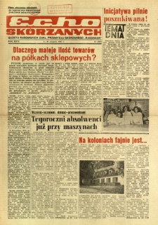 Radomskie Echo Skórzanych, 1981, R. 26, nr 22