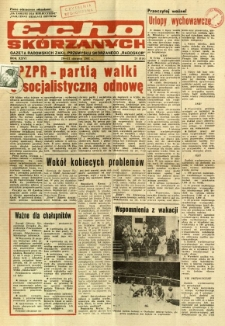 Radomskie Echo Skórzanych, 1981, R. 26, nr 24