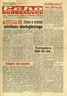 Radomskie Echo Skórzanych, 1981, R. 26, nr 29