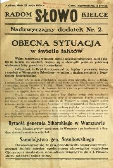 Słowo, 1926, R. 5, nr 2 dod. nadzwyczajny
