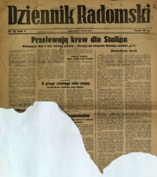 Dziennik Radomski, 1944, R. 5, nr 208