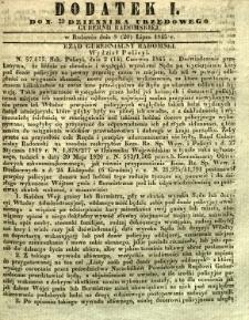 Dziennik Urzędowy Gubernii Radomskiej, 1845, nr 29, dod. I