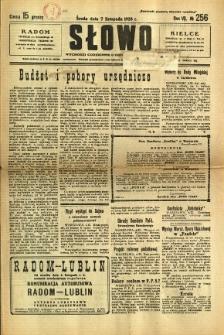 Słowo, 1928, R. 7, nr 256