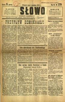 Słowo, 1928, R. 7, nr 279