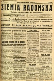Ziemia Radomska, 1931, R. 4, nr 56