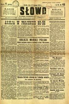 Słowo, 1929, R. 8, nr 48