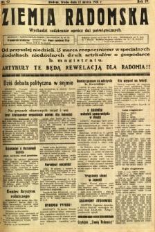 Ziemia Radomska, 1931, R. 4, nr 57
