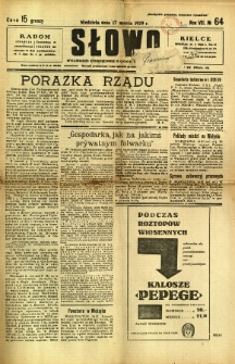 Słowo, 1929, R. 8, nr 64