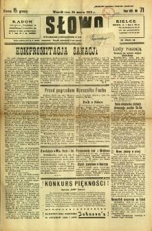 Słowo, 1929, R. 8, nr 71
