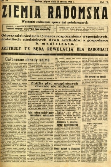 Ziemia Radomska, 1931, R. 4, nr 59