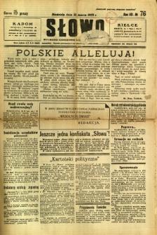 Słowo, 1929, R. 8, nr 76