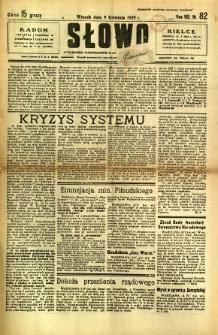 Słowo, 1929, R. 8, nr 82