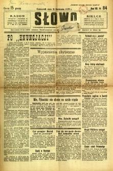 Słowo, 1929, R. 8, nr 84