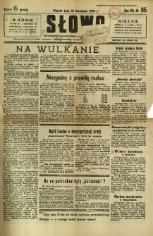 Słowo, 1929, R. 8, nr 85