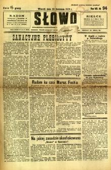 Słowo, 1929, R. 8, nr 94