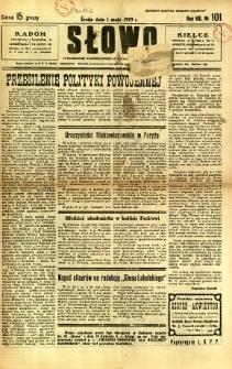 Słowo, 1929, R. 8, nr 101